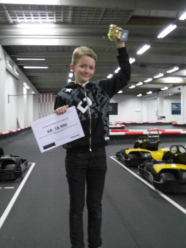 Og vinderen af Race Club for øvede konkurrencen blev…