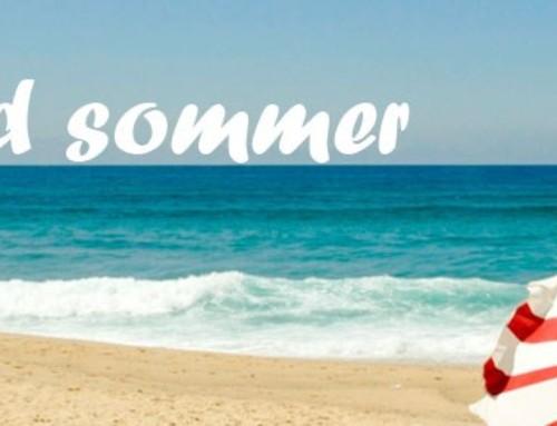 Sommerlukket i uge 29+30+31