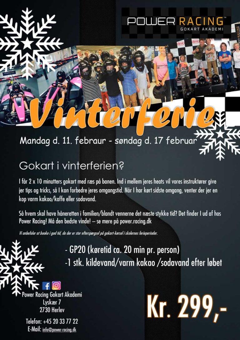 Vinterferie-Gokart